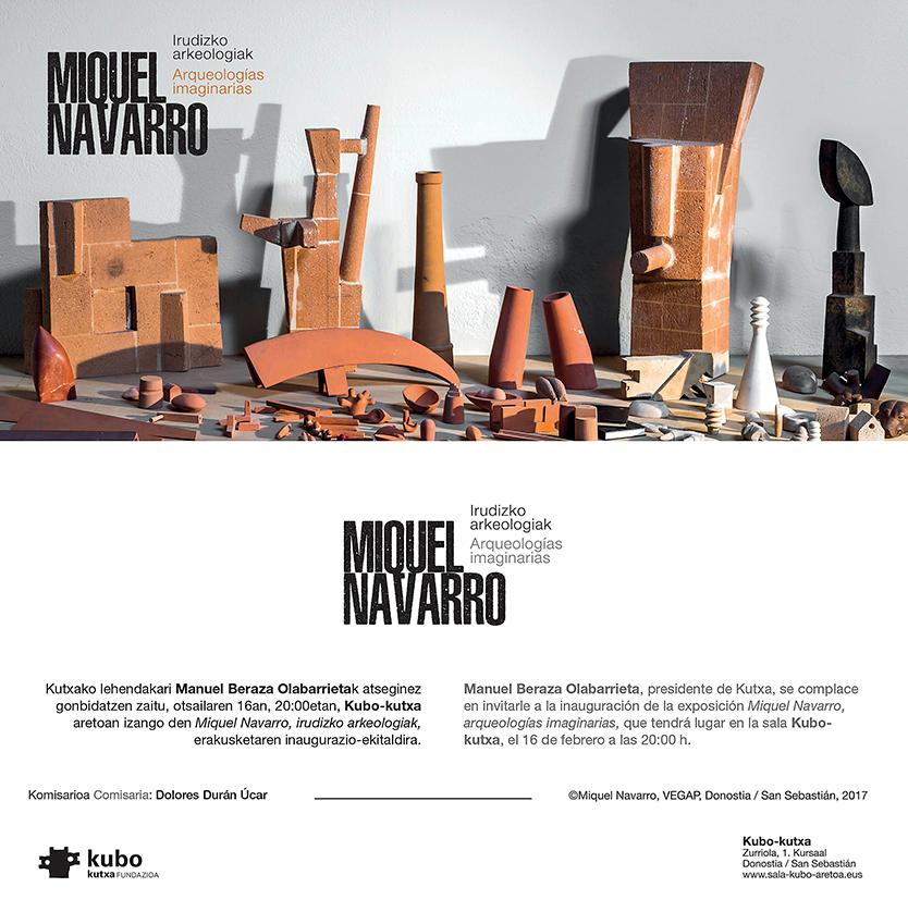 Exposicion M. Navarro